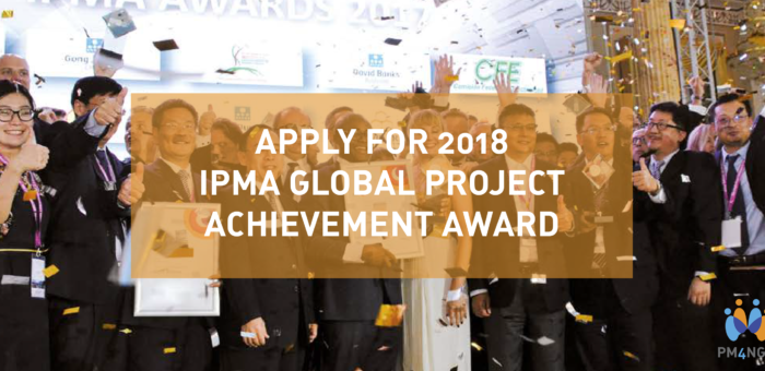 Get recognized with the IPMA Global Achievement Award