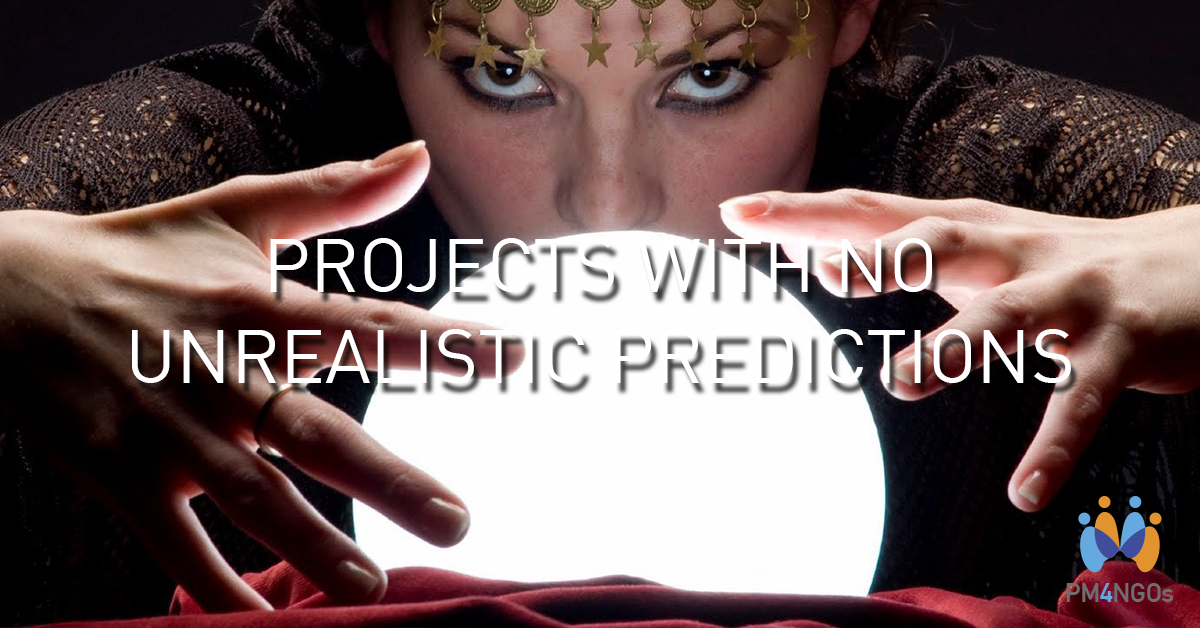 Projects with no unrealistic predictions
