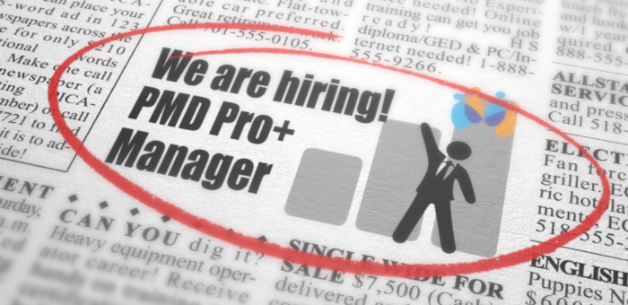 PMD Pro+ Program Manager Job Opportunity