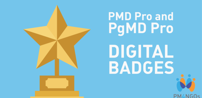 Digital Badges Now Available for PMD Pro and PgMD Pro Certified Professionals