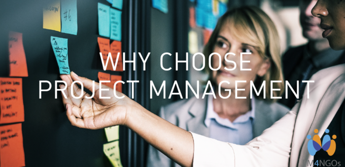 Why choose project management?