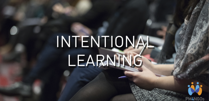 The 'Intent'​ in Intentional Organizational Learning